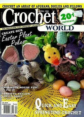 Crochet World Magazine April 1990