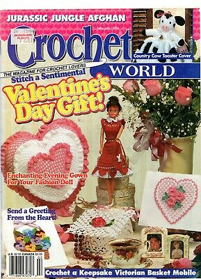 Crochet World Magazine February 1996