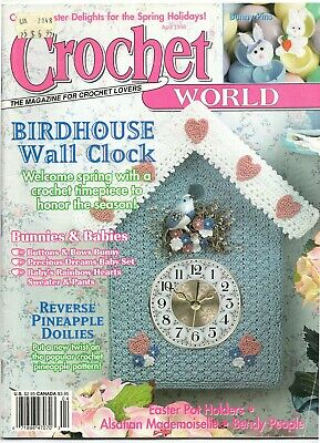 Crochet World Magazine April 1998