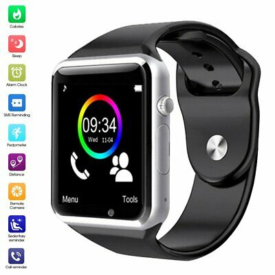 Bluetooth Smart Watch Camera Phone Mate GSM SIM For Android iPhone HTC Samsung