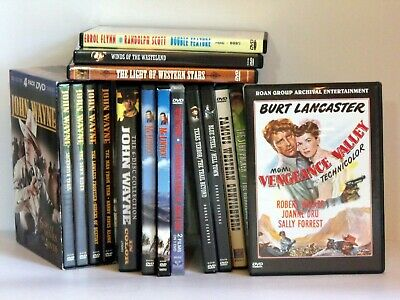 Westerns of Hollywood's Golden Era on DVD - on major and non-major DVD labels