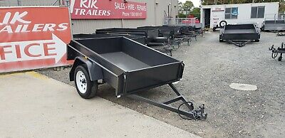 6x4 Heavy Duty 15 inch deep side box trailer