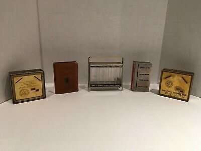 Lot of 5 Wonderful Vintage Coin Banks VERY OLD