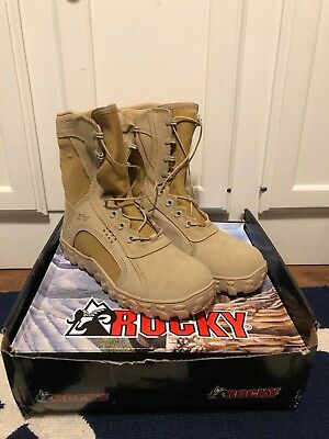 ece9f9ae89a **NEW** ROCKY S2V Steel Toe Tactical Military Boot - Sand