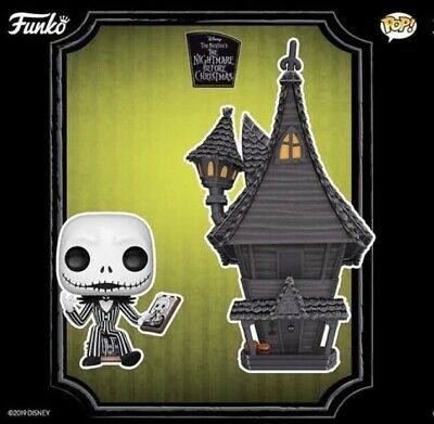 Funko Pop! Town Nightmare Before Christmas - Jack with Jack's House PRE-ORDER