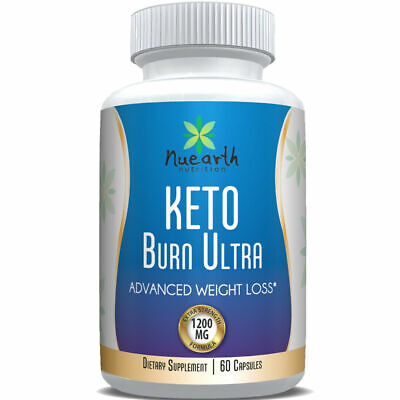 KETO Advanced Weight Loss Diet Pills Ketosis Supplements To Fat Burn & Carb