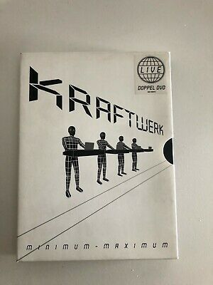 Kraftwerk - Minimum-Maximum (2 DVDs) | DVD | Zustand sehr gut 094633629394 RARE