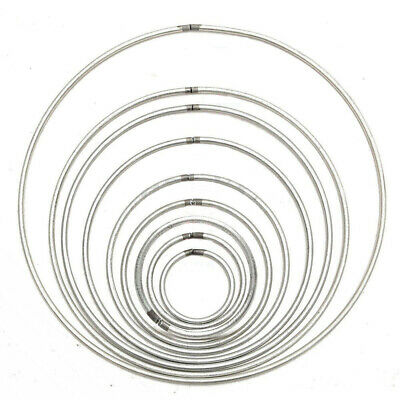 35mm-160mm Metal Ring Hoop for Craft Dream Catcher DIY Handmade Craft Accessory