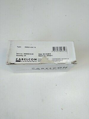 Box of 25 Cablecon FM-RG11 CX3  7.5