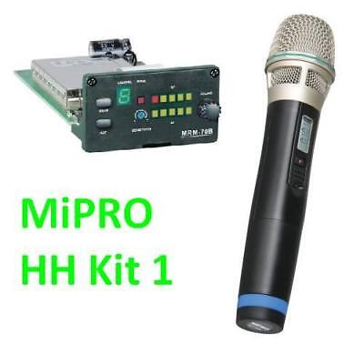 MiPRO UHF Receiver Module and Handheld Microphone ISM DR70 MA 505 705 707 708