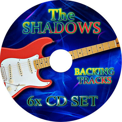 THE SHADOWS GUITAR BACKING TRACKS 6x AUDIO CD SET BEST GREATEST HITS HANK MARVIN