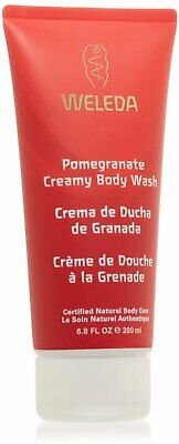 Pomegranate Creamy Body Wash, Weleda, 7.2 oz