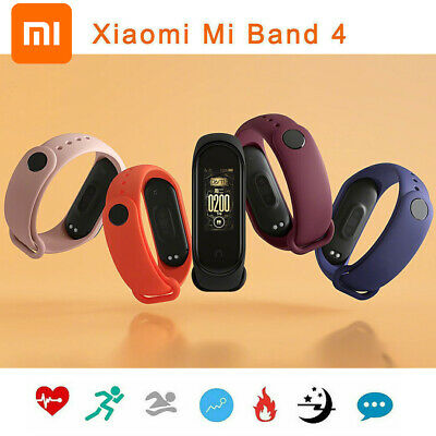 Xiaomi Mi band 4 Smartband Bluetooth AMOLED Sport Smartwatch Fitness Tracker NEW