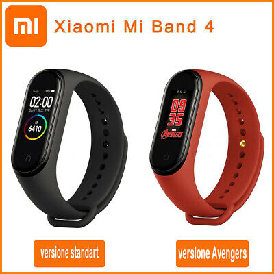 originale Xiaomi Mi Smart Band 4 versione standart OR versione Avengers select