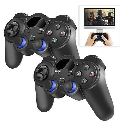 2PCS 2.4GHz Wireless Joystick Stick Game Controller For Android TV Box Tablet PC