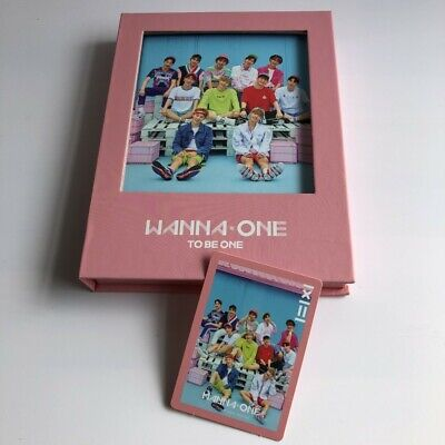 WANNA ONE 1st Mini Album CD+Booklet+Photocard Pink Ver. Free Shipping K-POP