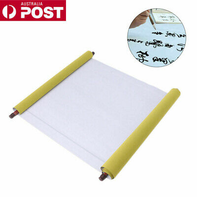 Reusable Chinese Magic Cloth Water Paper Calligraphy Fabric Book Notebook 1.5m L