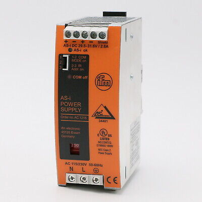 Ifm electronic AC1216 AS-i Power Supply