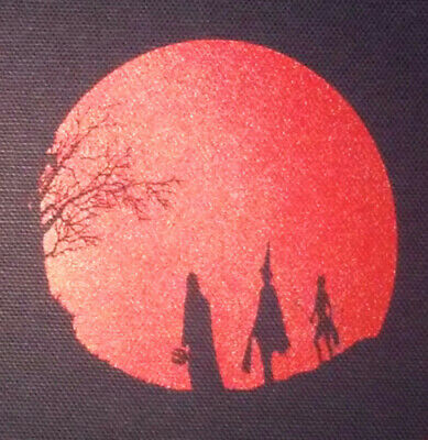 """PATCH - Halloween III """"Moon"""" Season of the Witch - screen print HORROR movie"""