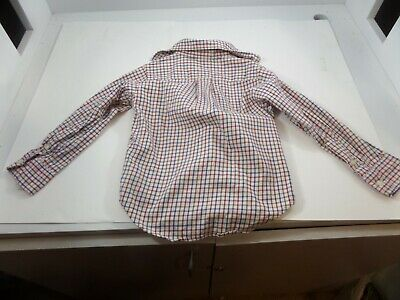 CHAPS Toddler Boys  Size 3T Plaid Button Down Long Sleeve Shirt