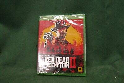 New **Sealed** Red Dead Redemption 2 (Xbox One, 2018) #2671