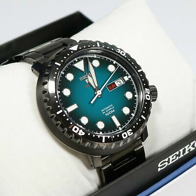 competitive price 97528 334c4 SEIKO 5 SPORTS Automatic 'Bottle Cap' SRPC65 Turquoise Dial ...