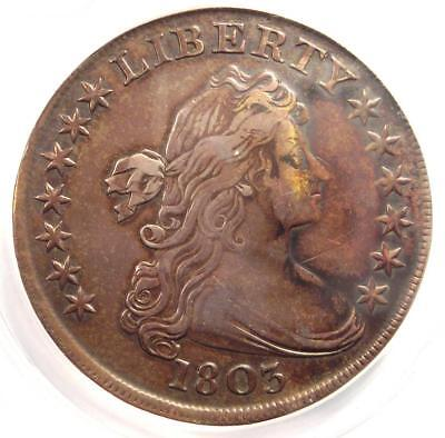 1803 Draped Bust Silver Dollar $1 Coin BB-255 B-6 - Certified ANACS XF40 Details