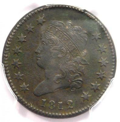 1812 Classic Liberty Head Large Cent 1C - PCGS XF Detail (EF) - Rare this Sharp!