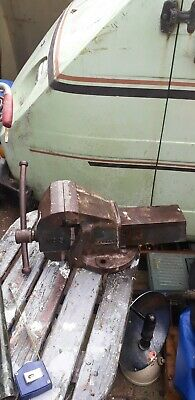 Vintage Record  No 5 Vise Vice engineers workshop Sheffield  strong 1950s on