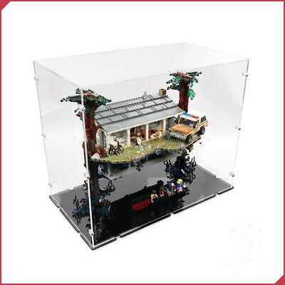 Acryl Vitrine für Lego 75810 Stranger Things - The Upside Down-Die andere Seite