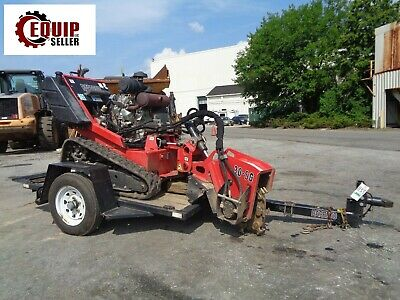 2014 Barreto 30-SGB Stump Grinder with Trailer - Forestry - Tree Equipment