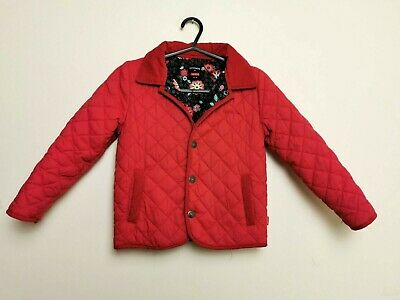 Name It Red Color Quilted Girls Coat Excellent Condition Size 6 Years