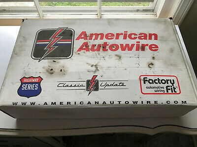 1968-72 olds cutlass classic update american autowire wiring harness kit  510645