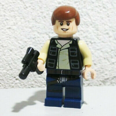 Lego Han Solo Legs Dark Blue from set 7965 for Star Wars Minifigure NEW 6022358