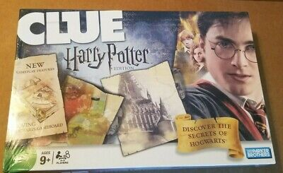 Brand New Harry Potter Clue Game Discover Secrets of Hogwarts 2008 Discontinued