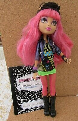 Monster High 13 WISHES HOWLEEN WOLF WITH DIARY