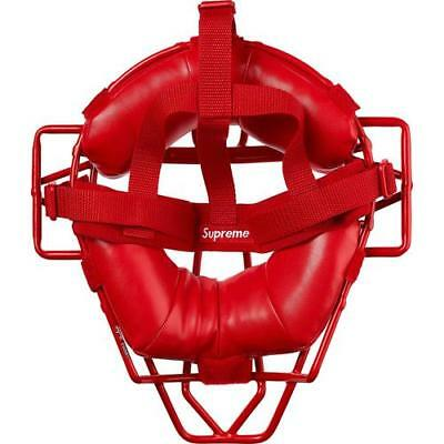 Supreme Rawlings Baseball Catcher/'s Masque Rouge SS18 Limited 100/% Authentique