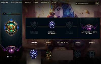 EUW / DIAMOND 5 / League Of Legends Account - $42 99 | PicClick