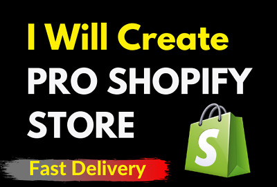 🔥♨️I will create a premium theme shopify web store site with 25 products ♨️ 🔥