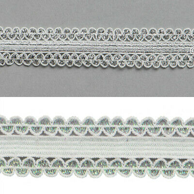 5yds Elastic Lace Braid Stretch Trim 16 mm Wide for Sewing Lingerie Decorative
