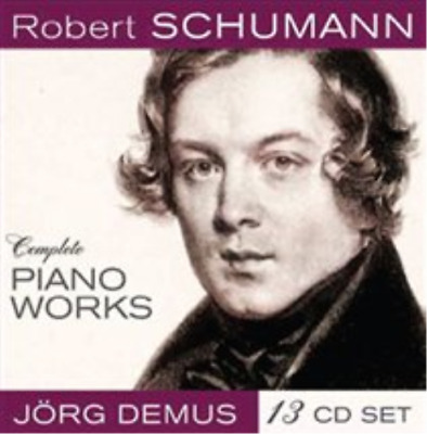 Robert Schumann: Complete Piano Works CD / Box Set NUOVO