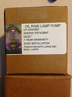 Oil rain lamp replacement pumps new 5YR WARRANTY. by the inventor.
