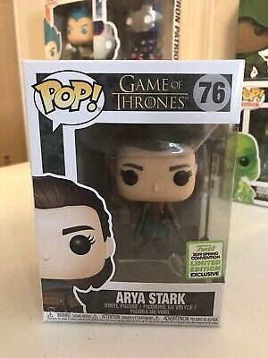 Arya Stark ECCC 2019 Excl Funko Pop Game of Thrones Vinyl Figure GoT #76