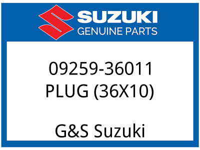 NOS Suzuki Freeze Plug Set Of 2 TL1000 TL1000S 1997 1998 1999 2000 2001