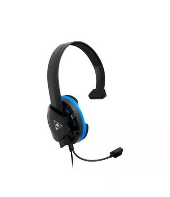 Turtle Beach Ear Force Recon Chat Headset Wired For Playstation 4 + Ps4 Pro (D18