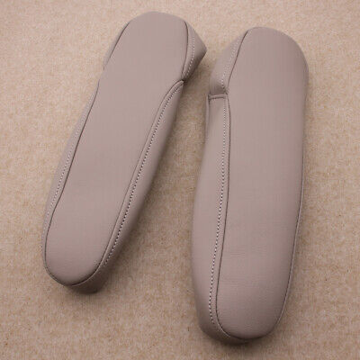 Leather Part Only Ezzy Auto Gray Leather Seat Armrest Covers For 2005-2010 Honda Odyssey