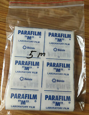 "New Parafilm M Laboratory Film 10cm / 4"" wide, Length 5 meters"