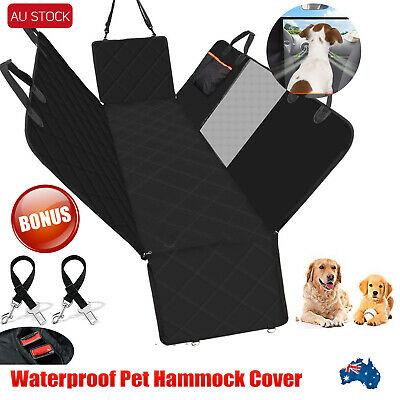 Waterproof Pet Car Back Seat Hammock Heavy Duty Cover Nonslip Protector Dogs Mat