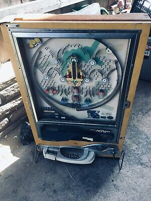 Vintage Nishijin Pachinko Machine Japan with Balls