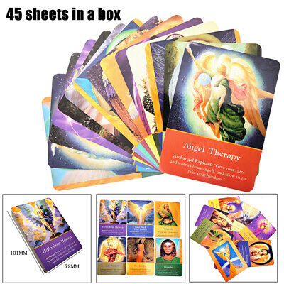 45 sheet/box  Archangel Oracle Cards Fans Gift Angel Oracle Cards Game 101*72mm
